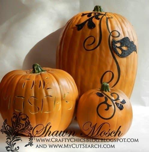 RhinestonePumpkins