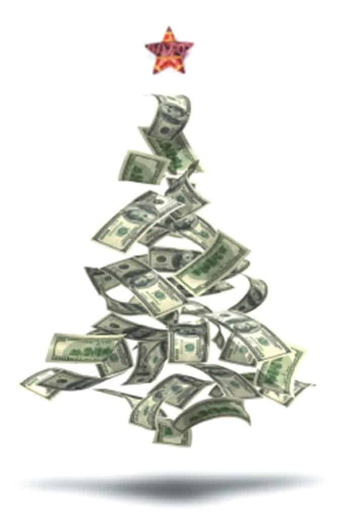 christmas money tree