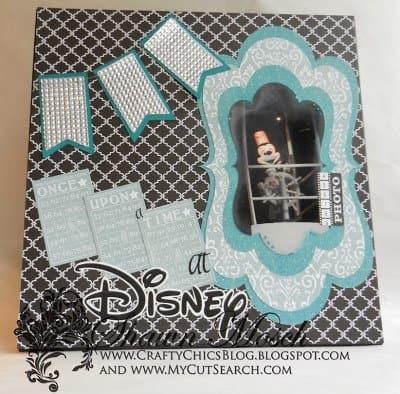 MickeyMouseScrapbookLayout