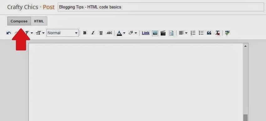 Blog Compose Empty