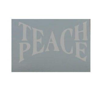 TeachPeaceDecal