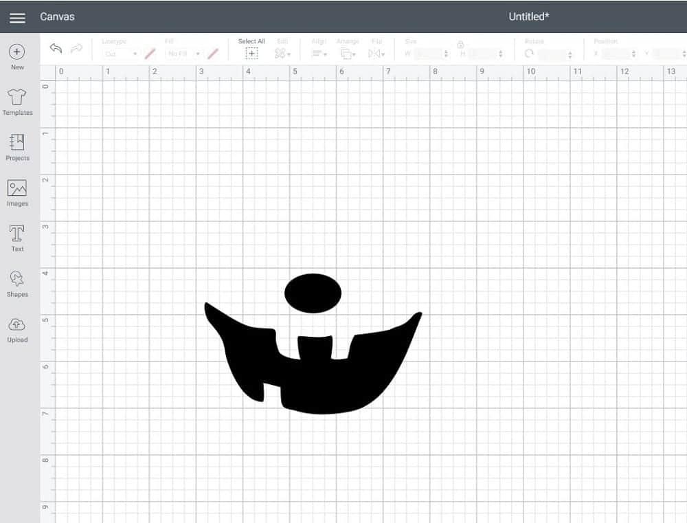 Cricut Design Space contour