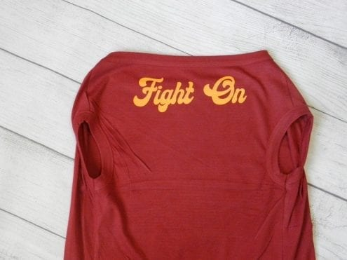 Fight On Dog Shirt