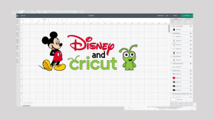 Disney Cricut images and fonts