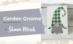 Garden Gnome cricut project for beginners