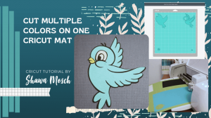 multiple colors one mat Cricut tutorial