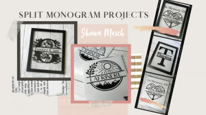 split monogram projects